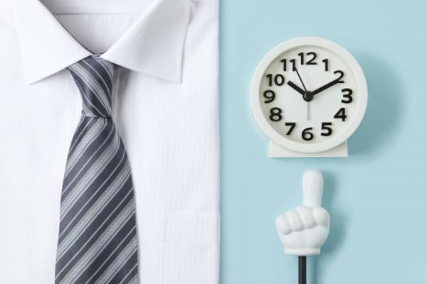 ネクタイと時計